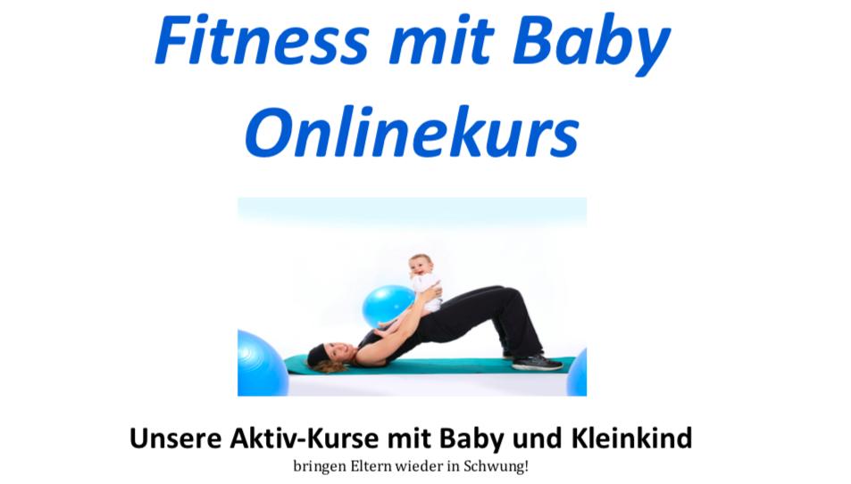 Fitness mit Baby Onlinekurs