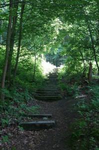 Treppen ca bei KM3