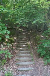 Treppen zw. KM 3 und KM4